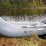 Распространенные типы надувных лодок